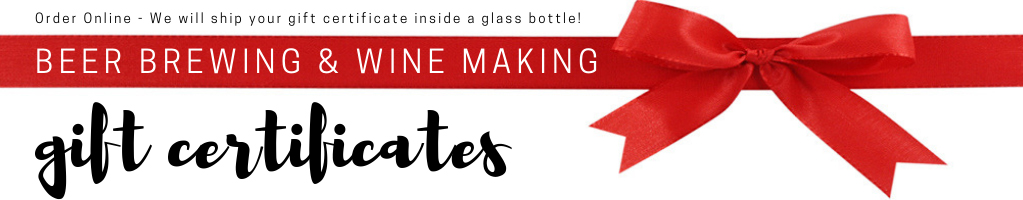 gift wine making and beer brewing